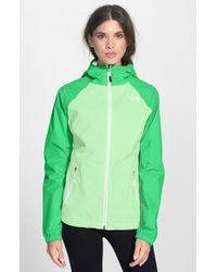 The North Face 'Allabout' Hooded Jacket green - Lyst