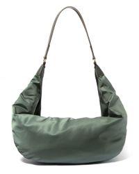 The Row Olive Sling Nylon Hobo Bag