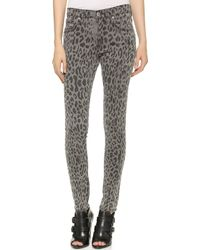 James Jeans Twiggy 5 Pocket Legging Jeans - Cougar - Lyst