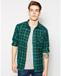 Bench - Flannel Shirt - Lyst