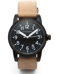 Burberry Bu7806 Timepiece Watch black - Lyst