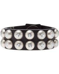 Ronald Pineau - Studded Cuff Bracelet - Lyst