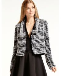 Halston | Reversible Quilted Fur Jacket | Lyst