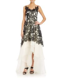 Notte by Marchesa | Embroidered Gown | Lyst