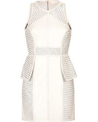 Sass & Bide Braided Leather Dress We Carry On - Lyst