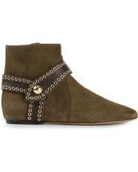 Isabel Marant Green 'Largo' Boots - Lyst