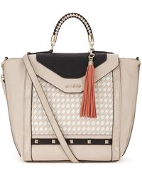 Guess Top Handle Tote Bag - Lyst