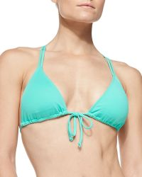 L Space Swimwear By Monica Wise Hippie Chic Triangle Swim Top - Lyst