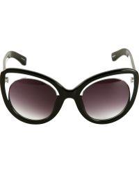 Linda Farrow Cat Eye Sunglasses - Lyst