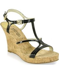 MICHAEL Michael Kors Cicely - Wedge Sandal - Lyst