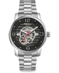 Breil Automatic Stainless Steel Bracelet Watch - Lyst