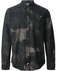 Acne Studios Isherwood Marker Print Shirt - Lyst