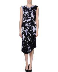 Vivienne Westwood Anglomania 3/4 Length Dress black - Lyst