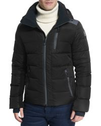 Moncler Soulare Quilted Down Puffer Jacket black - Lyst