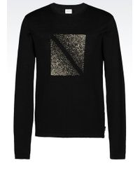 Armani   Crewneck Sweater   Lyst