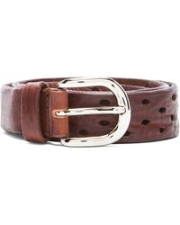 Isabel Marant Klaude Leather Belt - Lyst