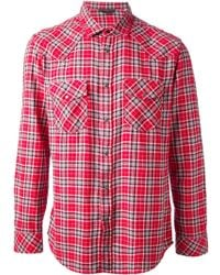 Diesel R Checked Shirt - Lyst