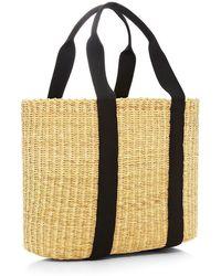 Muuñ Caba Large Straw Bag - Lyst