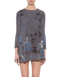 Rachel Comey Olympia Striped Mini Dress - Lyst