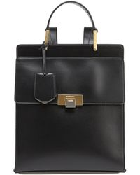 Balenciaga Le Dix Leather Backpack - Lyst