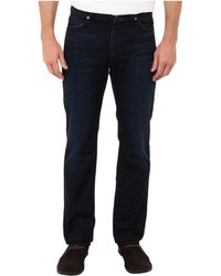 7 For All Mankind Slimmy Slim Straight in Night Shadow Blue - Lyst