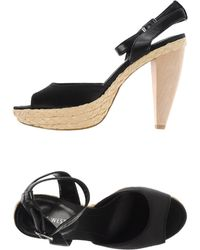 Nine West Espadrilles black - Lyst