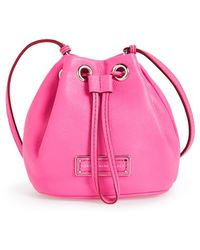 Marc By Marc Jacobs 'Too Hot To Handle' Leather Drawstring Bag - Lyst