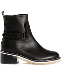 Nicholas Kirkwood Black Ankle Boots - Lyst