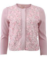 Giambattista Valli | Embroidered Floral Cardigan | Lyst