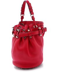Alexander Wang Exclusive Small Diego Bucket Bag - Lacquer - Lyst