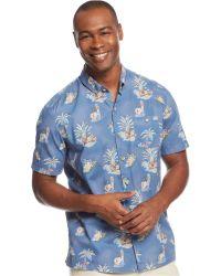 Tommy Bahama Luau Royale Shirt - Lyst