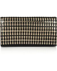 Alaïa Teardrop Metallic Leather Clutch - Lyst