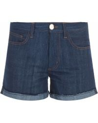 Forte Forte Denim Cutoff Short - Lyst