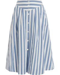 Paul & Joe Striped Skirt - Lyst
