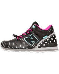 New Balance 996 Polka Dot Faux Leather Sneakers - Lyst