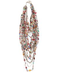 Subversive Jewelry - Russian Multistrand Necklace - Lyst