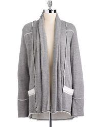 Hard Tail - Cardigan Sweatshirt - Lyst