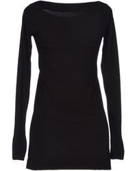 Donna Karan New York Black Jumper - Lyst