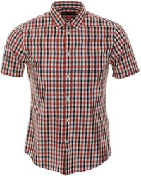 Aquascutum Club Check Shirt - Lyst