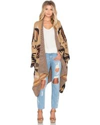 Wilde Heart - At Ease Poncho - Lyst