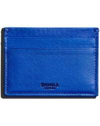 Shinola - Five-pocket Leather Card Case - Lyst