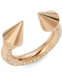 Vita Fede Titan Spike Surf Ring/Rose Goldtone - Lyst