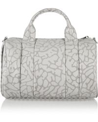 Alexander Wang The Rocco Leopard-Print Leather Tote - Lyst