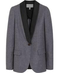 Mulberry Gray Tuxedo Jacket - Lyst