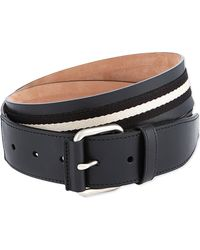 Bally Tianis40 Leather Belt Black - Lyst