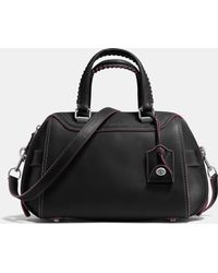 COACH | Ace Satchel In Glovetanned Leather | Lyst