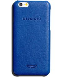 Shinola - Leather Wrapped Iphone 6 Case - Lyst
