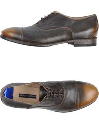 Alberto Guardiani Lace-Up Shoes - Lyst