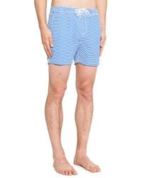Scotch & Soda Blue Packable Boardshort - Lyst