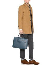 Ben Minkoff - Waxy Leather Fulton Briefcase - Lyst